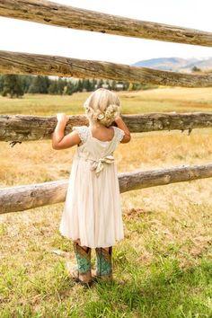 Colorado Ranch Wedding - Rustic Wedding Chic
