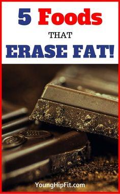 foods that erase fat