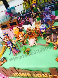 Clash of clan cake #coccake #themecakes