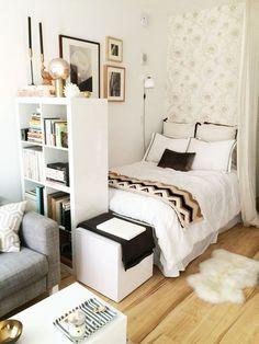 1084 mejores imágenes de DORMITORIOS PEQUEÑOS | Bedrooms, Furniture ...