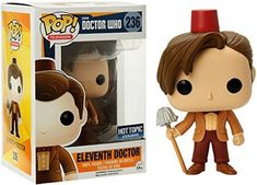 Doctor Who Funko Pop Eleventh Doctor Mop Fez Exclusive