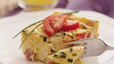 Spring for a brunch!  No last-minute scrambling is needed with this easy egg bake!