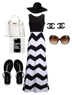"""""""Day Out At The Beach"""" by blessinga-1 ❤ liked on Polyvore"""