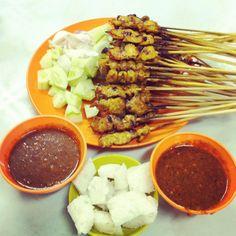 Nothing beats local. You say kebab, I say SATAY.