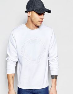 ASOS Embossed Scuba Sweatshirt