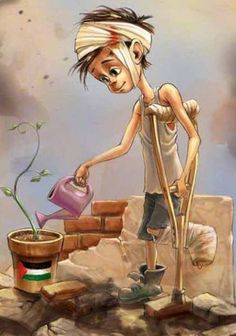 Originally saw this for Palestine too. Save Syria, Help Syria, Palestine Art, Naher Osten, Satirical Illustrations, Meaningful Pictures, We Are The World, Islamic Art, Mother Earth