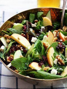 Apple Cranberry Walnut Salad - RC