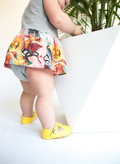 Sweet spring style for little girls | mon petit shoes