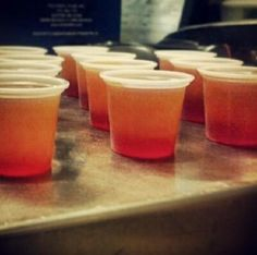 tequila sunrise jello shots - Google Search