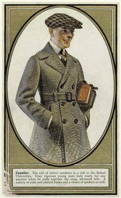 J.C. Leyendecker / Kuppenheimer Ad / Cavalier Coat