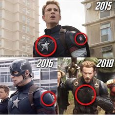 It's kind of sad. It's like he is getting rid of the signs that show we was apart of the Avengers.