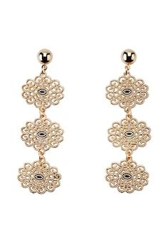 HALLHUBER Boucles d'oreilles - gold-coloured - ZALANDO.CH Belly Button Rings, Gold, Drop Earrings, Pearls, Aurum, Jewelry, Style, Fashion, Boucle D'oreille