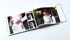 Create a photobook of your special day with Momento's free software.    Book Design: M.Crannage  Photography: Natasja Kremers     http://www.momento.com.au/pages/create_personalised_premium_photobooks