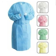 Dental Medical Latex-Free Disposable Isolation Gowns Knit Cuff Non Woven Staff Uniforms, Medical Uniforms, Disposable Lab Coats, Doctor Scrubs, Scrubs Uniform, Permanent Makeup Eyebrows, Corporate Wear, Medical Dental, Hotel Uniform