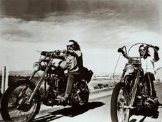 Harley Davidson Road Trip, Dennis Hopper and Peter Fonda star in Easy Rider Poster Vintage Motorcycles, Harley Davidson Motorcycles, Custom Motorcycles, Custom Bikes, Harley Bikes, Indian Motorcycles, Sportster Motorcycle, Harley Panhead, Custom Cycles