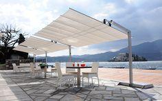 Flex 2 Post Cantilever Patio Umbrellas (BBCK)