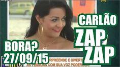 PEGADINHA DO CARLÃO - BORA TOMAR UMA? prank - Encrenca ZapZap 27/09/15 - YouTube