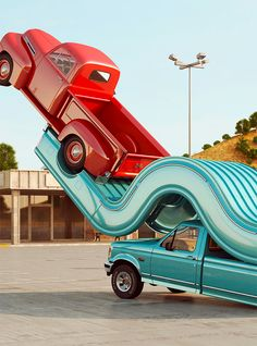 Tales of Auto Elasticity: 3D Artworks by Chris Labrooy | Inspiration Grid | Design Inspiration