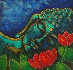 BUDDHA IN MY GARDEN - Cyra R. Cancel
