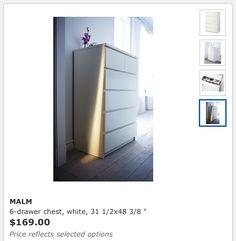 Malm Dresser from Ikea