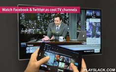 Stevie For Chromecast  Android App - playslack.com , NEW: Watch Twitter & Youtube as TV channels on Chromecast & Android TV!It is your new TV experience! Stevie creates nonstop 24/7 TV channels from social media (Twitter, Youtube) based on everything you and friends post, share and favorite. Stevie's public channels televise web and social media content from artists, brands, bands, chefs, athletes, magazines and anyone you'd ever want to get awesome content from.Choose from hundreds of…