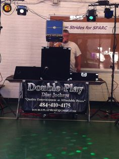 DJ at family fun day #Autism