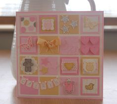 Julie's Japes - An Independent Stampin' Up! Demonstrator in the UK: Baby Girl card