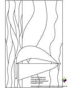 Stained Glass Patterns for FREE ★ glass pattern 065 Sailboat ★