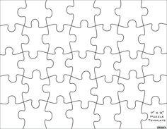 Free Jigsaw Puzzle Template - Falep.midnightpig.co with Jigsaw Puzzle Template For Word