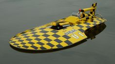 Vintage Hydroplane Boats
