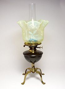 W.A.S. Benson arts u0026 crafts opalescent oil l& & was benson lighting - Google Search   Lámparas.   Pinterest ... azcodes.com