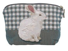 Rabbit French Tapestry Bag for  mum or Nana - $49.99 from Blue Illusion - pop an Easter egg into it for an extra surprise!