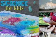 Science for kids automatically makes me think of messy exploding volcanoes.    Thankfully there are many other science experiments to do that aren't quite as complex as that one.  Whether you are homeschooling your children and want to learn about science, or just like to have a fun time discovering, these are some wonderful activities to share with your kids.