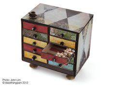 Matchbox Dollhouse | Miniature Matchbox Chest Tutorial | Dollhouse Dreams
