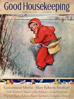 Darling Christmas Good Housekeeping cover, 1936