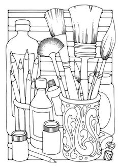 COLORING PAGES KITCHEN UTENSILS