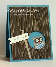 Julie's Stamping Spot -- Stampin' Up! Project Ideas Posted Daily: Top 5 of August 2012