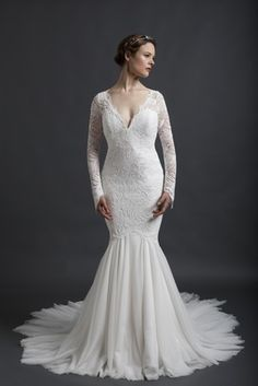 The Sareh Nouri spring 2016 collection is definitely one of the strongest line  of gowns from bridal fashion week. 9b81a523bcab