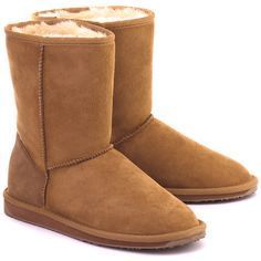 EMU Stinger Lo Chestnut - Orzechowe Zamszowe Kozaki Damskie #mivo #mivoshoes #shoes #buty #emu #winter #suede #cold #weather #boots #brown #colors #fashion #popular #style #stylish #new #collection #newcollection #snow #2015 #2016