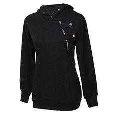 Partiss Womens Korean Style Hoodie Sweatshirt
