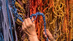 Sheila Hicks, Weaving Techniques, Textile Artists, Wall Sculptures, American Artists, Fiber Art, Hand Weaving, It Works, Contemporary