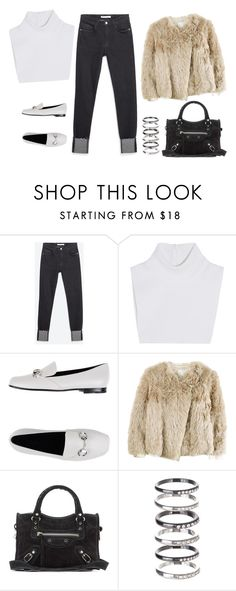 """Untitled #1411"" by styledincontrast ❤ liked on Polyvore featuring Zara, Michael Kors, Gucci, 3.1 Phillip Lim, Balenciaga, M.N.G, women's clothing, women, female and woman"