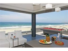 New ocean view home in San Diego
