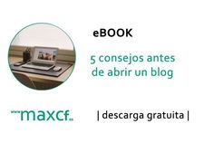 NUEVO POST: 5 consejos antes de abrir un #blog http://www.maxcf.es/ebook-5-consejos-antes-abrir-blog/ [#eBOOK de descarga gratuita] #blogging