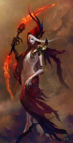 Beautiful Collection of Digital Fantasy Illustrations