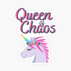 Decorate Notebook, Glossier Stickers, Sticker Design, Top Artists, Unicorn, Finding Yourself, Queen, Art Prints, Printed