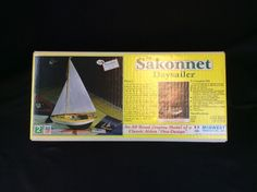 THE SAKONNET DAYSAILER MODEL KIT BY MIDWEST LEVEL 2 BY MIDWEST PRODUCTS NEW 983    eBay