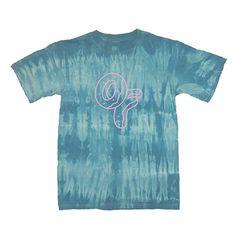 Odd Future blue tie dye