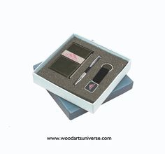 **** FREE ARTWORK , FREE SETUP AND FREE SHIPPING ****    Sale Up to 65% off store wide #bulk #gifts #freeartwork #freeEproof #businessgifts #bulk    ****Let us know if you want to customize it****    Business Card Case, Pen and Key Tag Gift Set WAUSGS560:  Make a lasting impression with this business gift set. This gift set contains a fine writing instrument (ballpoint pen), a business card case and a key tag. This new style gift set makes it a perfect gift for your clients, colleagues etc…