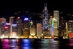 Dream Destination - Our CEO Robert DeBaker is heading to Hong Kong this week, he can't wait to see the mixture of capitalism and mainland Chinese influence, heard the food is outstanding and the tailors are the best in the world! Oh The Places You'll Go, Places To Travel, Places To Visit, Dream Vacations, Vacation Spots, Night Skyline, Night City, Hong Kong, Travel Inspiration